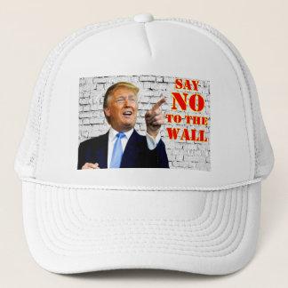 Casquette Anti- Donald Trump disent NON au chapeau de