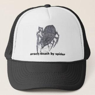Casquette arach2, la mort d'arach par l'araignée