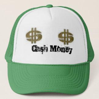Casquette argent, argent, argent d'argent liquide