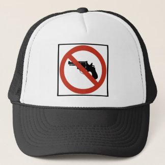 Casquette Arme à feu n'a pas permis le signe de route