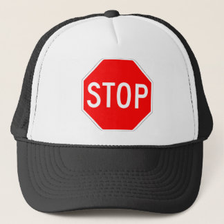 Casquette Arrêtez le signe