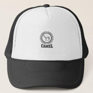 Casquette art de logo de chameau