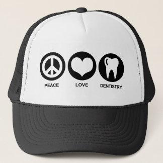 Casquette Art dentaire d'amour de paix