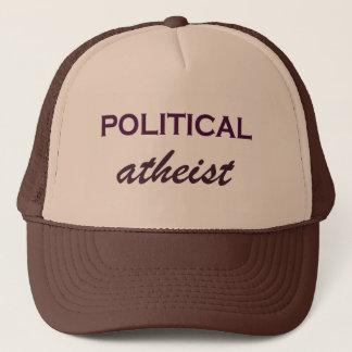 Casquette athée politique plein d'esprit de