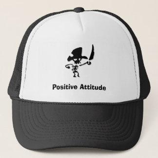 Casquette Attitude positive de pirate