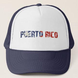 Casquette avec le texte portoricain sale de