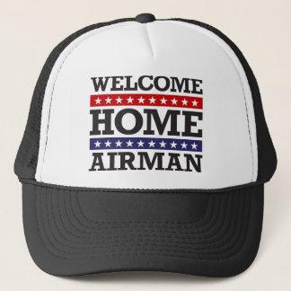 Casquette Aviateur à la maison bienvenu
