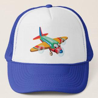 Casquette avion de bande dessinée