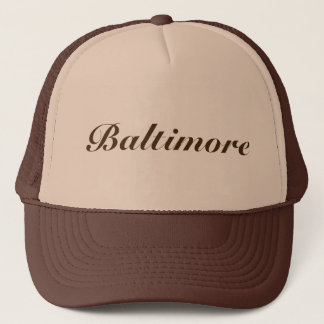 Casquette Baltimore Brown