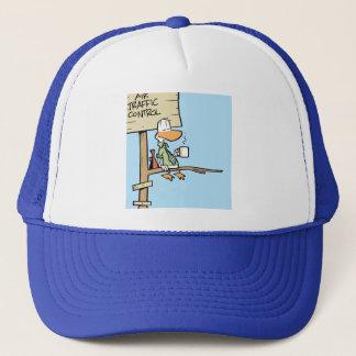 Casquette Bande dessinée de contrôle du trafic aérien de