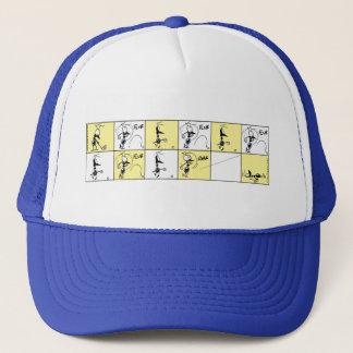 Casquette Bande dessinée de golf d'amusement