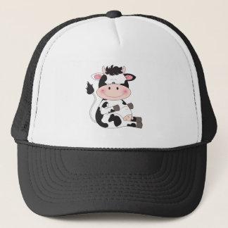 Casquette Bande dessinée mignonne de vache
