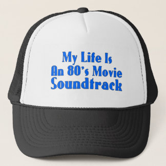 Casquette bande sonore de film des années 80