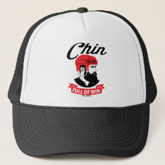 Casquette Barbe Chin d'hockey complètement de finale de