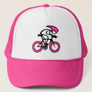 Casquette Bâton avec le coureur de rose de sport