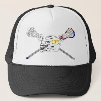 Casquette Bâtons de lacrosse avec le casque