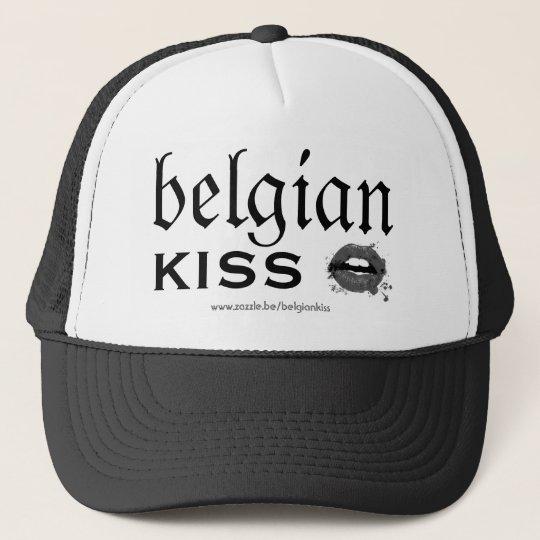 Casquette Belgian Kiss B&W
