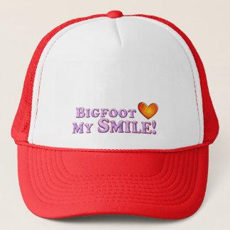 Casquette Bigfoot aime mon sourire - de base