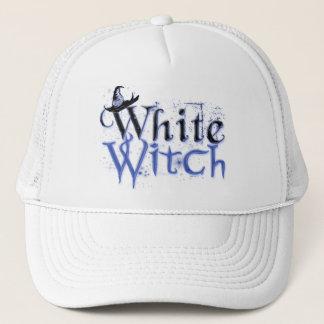 Casquette blanc de sorcière