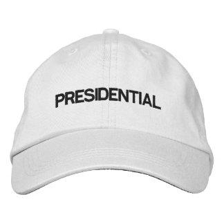 Casquette blanc réglable présidentiel