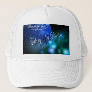 Casquette bleu de radio de filet de galaxie