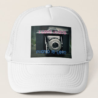 Casquette Bonnet I LOVE PHOTO PHOTO IS LOVE