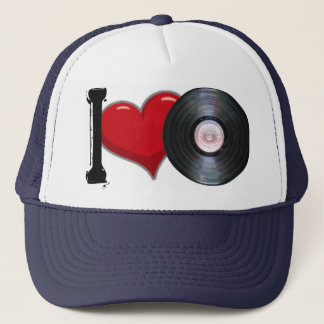 Casquette Bonnet Love Vinyle