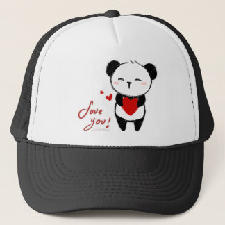 Casquette Bonnet « Love You Panda ""
