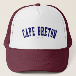 Casquette Breton de cap