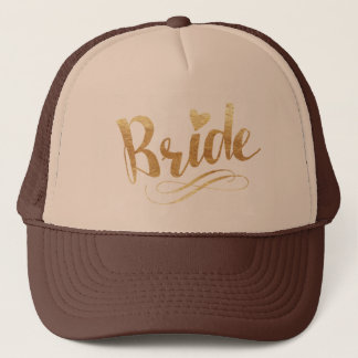 Casquette Bride|Golden