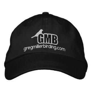 Casquette brodé de base de logo de GMB avec le