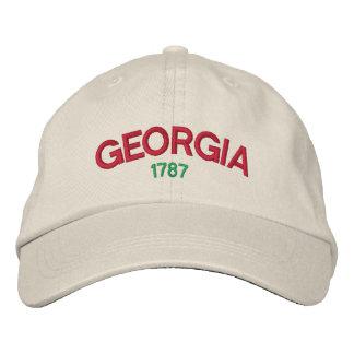 Casquette brodé de la Géorgie 1787