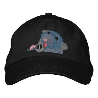 Casquette brodé de rat de chant casquette de baseball brodée