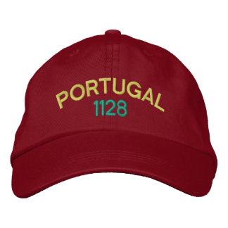 Casquette brodé du Portugal 1128