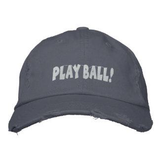 Casquette brodé par base-ball fait sur commande