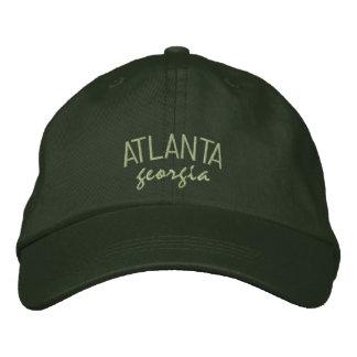 Casquette brodé par Géorgie d'Atlanta