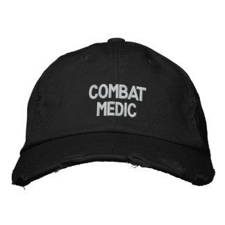 Casquette brodé par médecin de combat