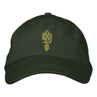 Casquette brodé par monogramme personnalisable casquette de baseball brodée