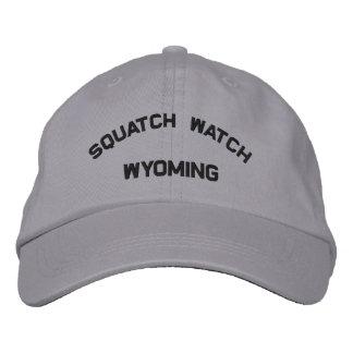 Casquette brodé par montre du Wyoming Squatch Chapeaux Brodés