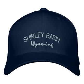 Casquette brodé par Wyoming de bassin de Shirley