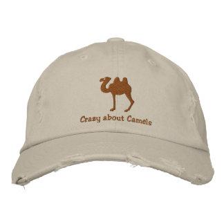 Casquette brodé personnalisable de chameau
