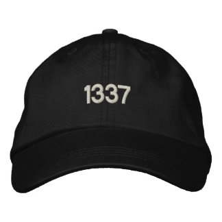 CASQUETTE BRODÉE 1337