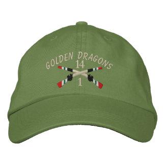 Casquette Brodée 1-14ème Fusils croisés parIrak d'infanterie