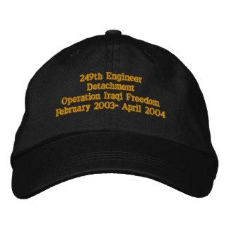 Casquette Brodée 249th Détachement d'ingénieur, garde nationale du