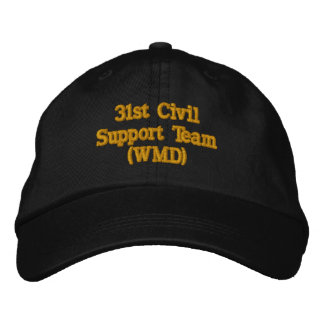 Casquette Brodée 31ème Équipe civile de soutien (WMD)