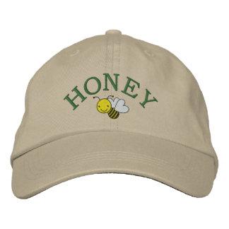 Casquette Brodée Abeille de miel - reine des abeilles - sauvez