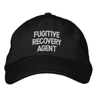 Casquette Brodée Agent fugitif de récupération