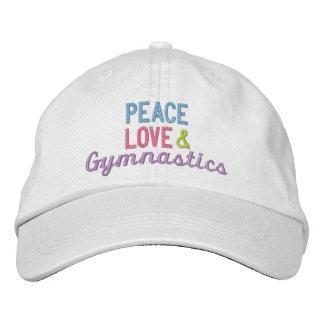 Casquette Brodée Amour et gymnastique de paix