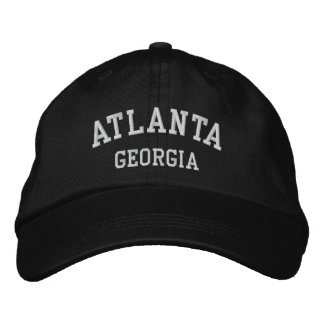 Casquette Brodée Atlanta, la Géorgie