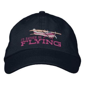 Casquette Brodée Avions Cessna classique que je piloterais plutôt